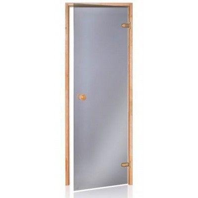 Hoofdafbeelding van Hot Orange Saunadeur Scan 80x210 cm, grijs 8 mm elzen