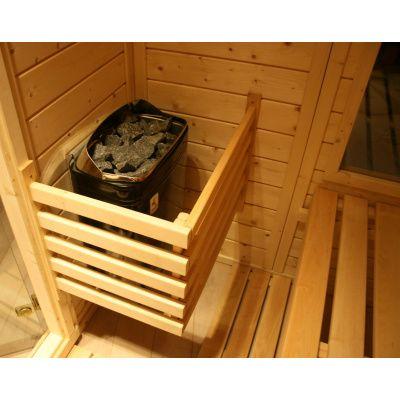 Afbeelding 35 van Azalp Massieve sauna Genio 166x166 cm, 45 mm