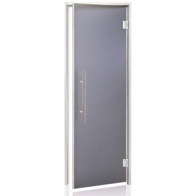 Hoofdafbeelding van Hot Orange Stoombad deur Au Lux 80x190 cm, mat grijs