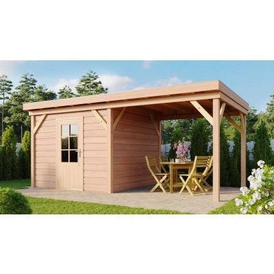 Hauptbild von WoodAcademy Prince Douglasie Gartenhaus 500x400 cm