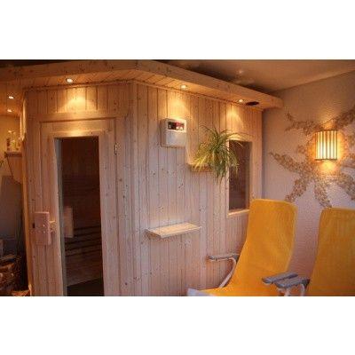 Afbeelding 2 van Azalp Dakrand voor sauna Classic elzen/espen*
