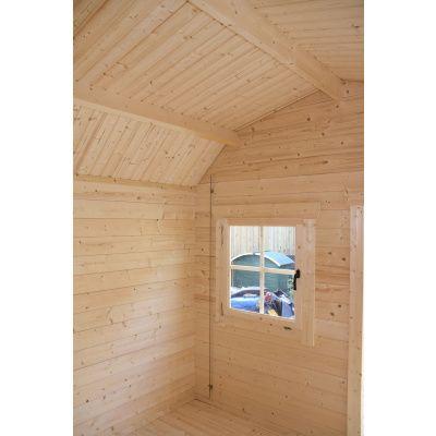 Bild 19 von Azalp Blockhaus Kent 250x250 cm, 30 mm