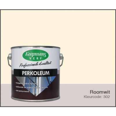 Hoofdafbeelding van Koopmans Perkoleum, Roomwit 302, 2,5L Hoogglans