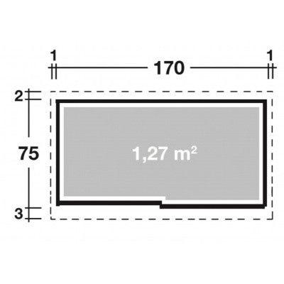 Afbeelding 2 van Wolff Premium Model 177 Grijs