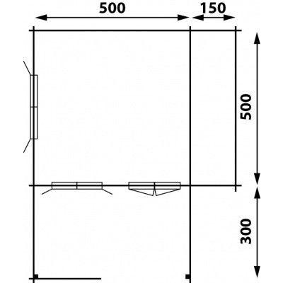 Afbeelding 4 van Interflex 5x5+3Z, geverfd