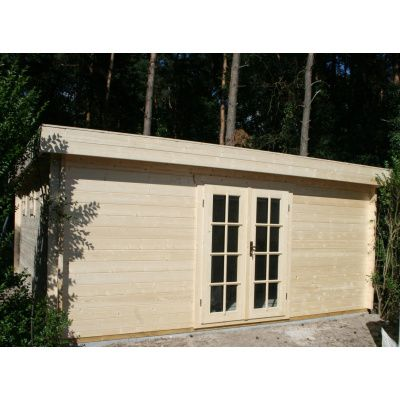 Bild 49 von Azalp Blockhaus Ingmar 500x350 cm, 45 mm