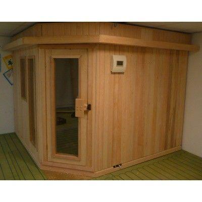Afbeelding 7 van Azalp Dakrand voor sauna Classic elzen/espen*