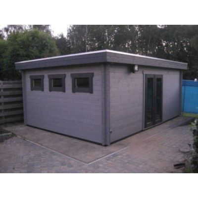 Bild 73 von Azalp Blockhaus Ingmar 400x500 cm, 45 mm
