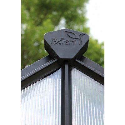 Afbeelding 3 van Royal Well Birdlip 64, zwart gecoat, veiligheidsglas 3mm
