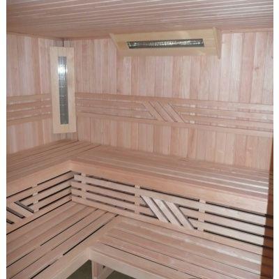 Afbeelding 11 van Azalp Sauna Runda 220x220 cm elzen
