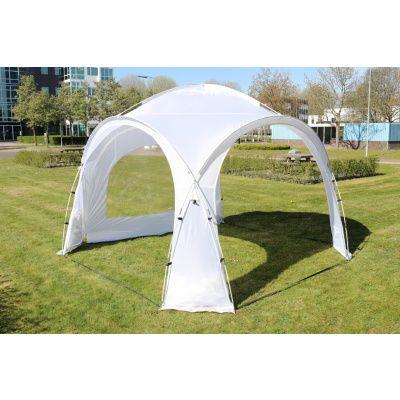 Afbeelding 4 van Orange Outdoor Iglo Dome tent 3.5x3.5m wit