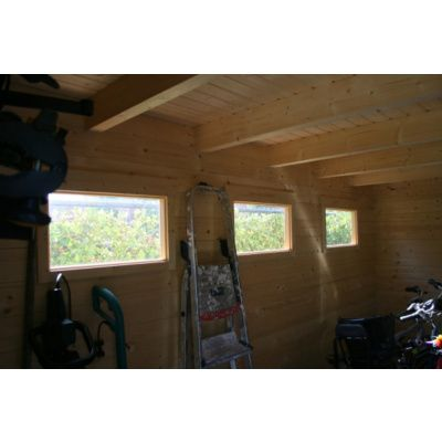 Bild 5 von Azalp Blockhaus Lars 350x350 cm, 30 mm
