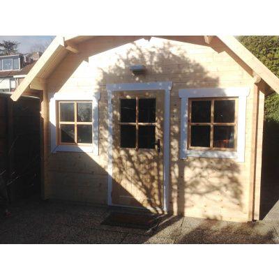 Bild 17 von Azalp Blockhaus Yorkshire 400x400 cm, 30 mm