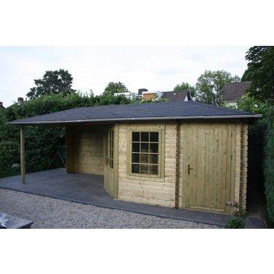 Bild 22 von Interflex Blockhaus 4355 Z, Seitendach 450 cm