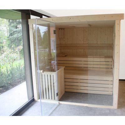 Afbeelding 31 van Azalp Sauna rugleuning Lumen, Elzen