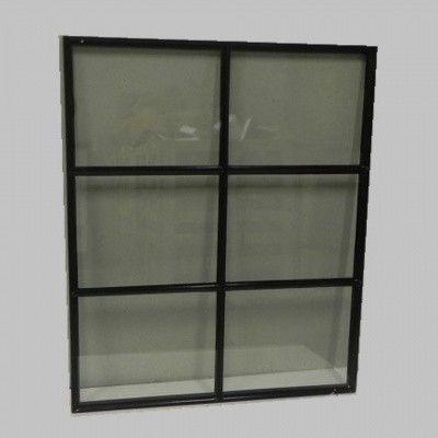 Afbeelding 2 van Azalp Stalen raam vast, 1000x1200 mm