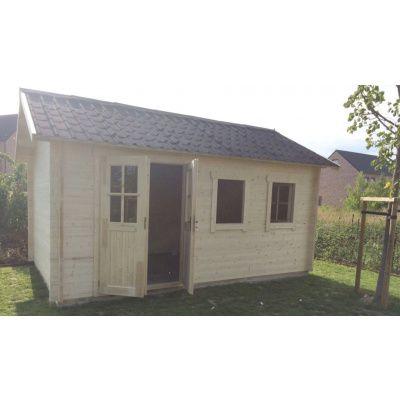 Bild 18 von Azalp Blockhaus Lynn 400x350 cm, 30 mm