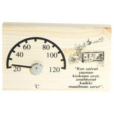 Hauptbild von Ilogreen Thermometer Holz Basic Horizontal