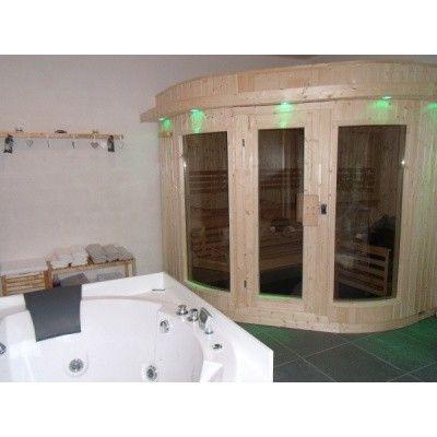 Bild 19 von Azalp Sauna Runda 220x237 cm, Fichte
