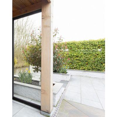 Afbeelding 6 van WoodAcademy Zijwand 86,5x220 cm Glas