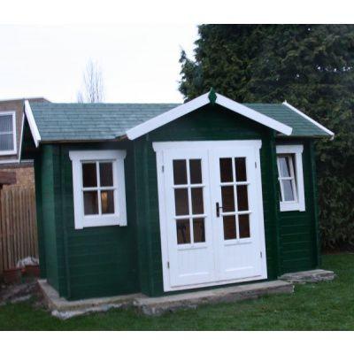 Bild 9 von Azalp Blockhaus Essex 450x400 cm, 45 mm
