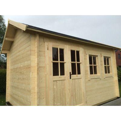 Bild 17 von Azalp Blockhaus Lynn 400x350 cm, 30 mm