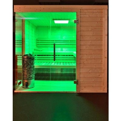 Afbeelding 32 van Azalp Sauna Luja 240x210 cm, 45 mm