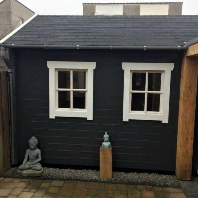 Bild 31 von Azalp Blockhaus Lynn 450x450 cm, 30 mm