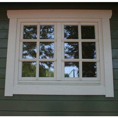 Hoofdafbeelding van Azalp Extra raam voor Royal Class blokhut, 120x94 cm*