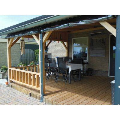 Bild 16 von Azalp Terrassenüberdachung Holz 400x300 cm