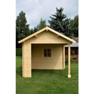 Bild 3 von Azalp Blockhaus Marnix 600x350 cm, 45 mm