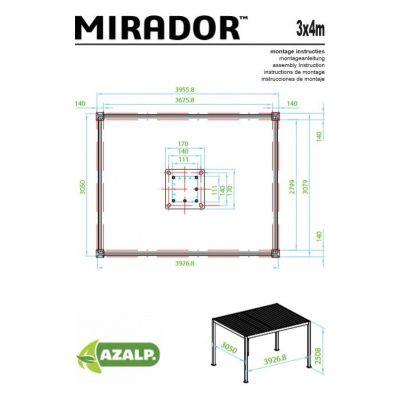 Bild 7 von Sorara Mirador 3x4 weiß