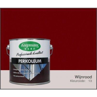 Hoofdafbeelding van Koopmans Perkoleum, Wijnrood 13, 2,5L Hoogglans (O)