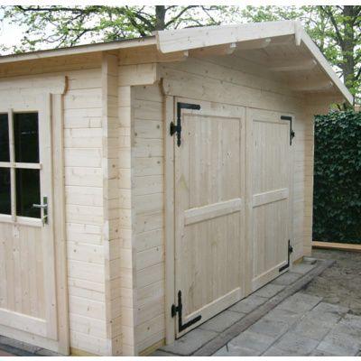 Afbeelding 18 van Azalp Garage Thijs 470x570 cm, 95 mm