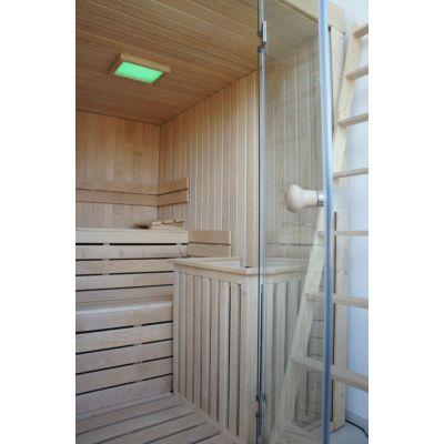 Afbeelding 40 van Azalp Sauna rugleuning Lumen, Elzen