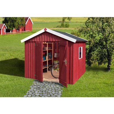 Hoofdafbeelding van Weka Zweeds huis 349 Gr. 3 Zweeds rood