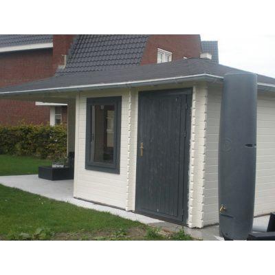 Bild 17 von Interflex Blockhaus 4355 Z, Seitendach 450 cm