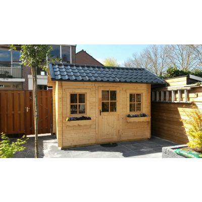 Bild 30 von Azalp Blockhaus Lis 450x450 cm, 45 mm