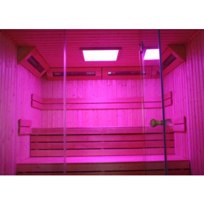 Bild 60 von Azalp Lumen Elementsauna 186x203 cm, Fichte