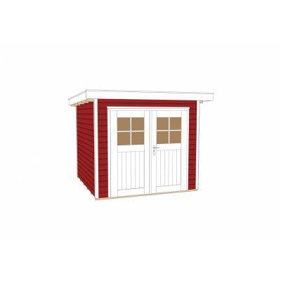 Afbeelding 3 van Weka Tuinhuis 227 Gr. 2 Zweeds rood