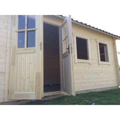Bild 20 von Azalp Blockhaus Lynn 450x450 cm, 30 mm