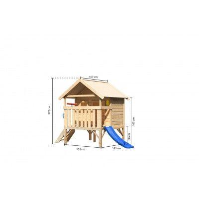 Afbeelding 2 van Akubi Speelhuis Mini voordeelset L (89334)