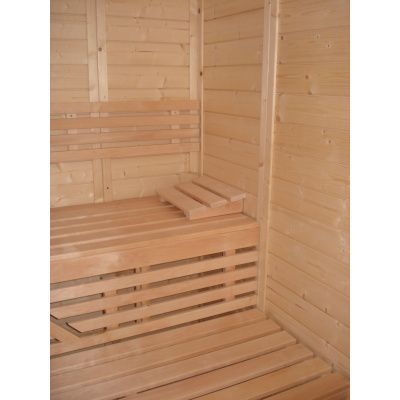 Afbeelding 31 van Azalp Massieve sauna Genio 190x240 cm, 45 mm