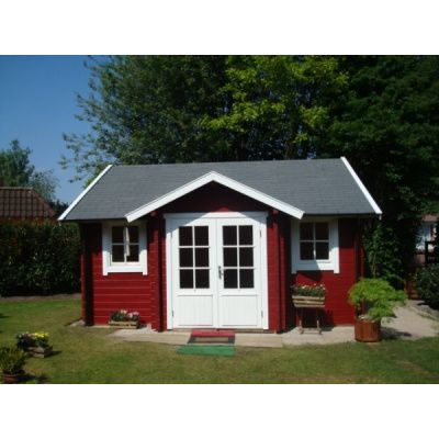 Bild 4 von Azalp Blockhaus Essex 400x450 cm, 30 mm