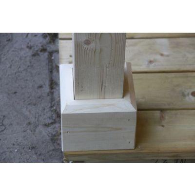 Afbeelding 28 van Azalp Blokhut Kirkwall 450x450 cm, 45 mm