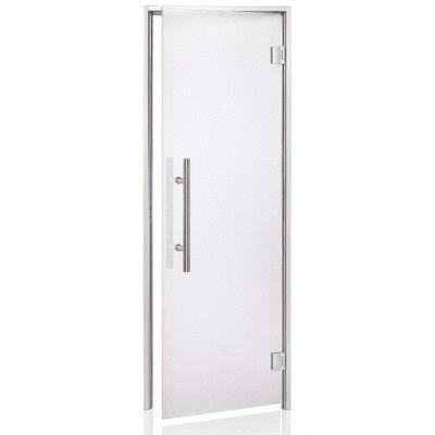 Hoofdafbeelding van Hot Orange Stoombad deur Au Premium 90x200 cm, mat blank
