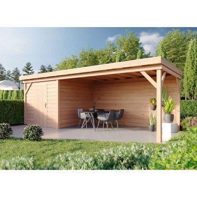 Hauptbild von WoodAcademy Bristol Douglasie Gartenhaus 780x300 cm