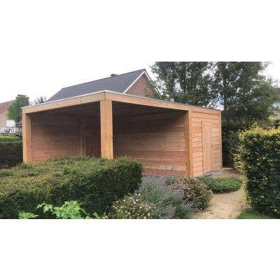 Afbeelding 9 van WoodAcademy Nefriet excellent Douglas blokhut 580x400 cm