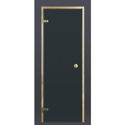Hoofdafbeelding van Ilogreen Saunadeur Trend (Vuren)189x69 cm, groenglas