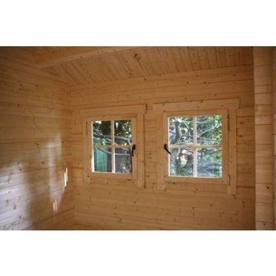 Afbeelding 49 van Azalp CLASSIC blokhut Cottage Style Cumberland 520x430 cm, 45 mm